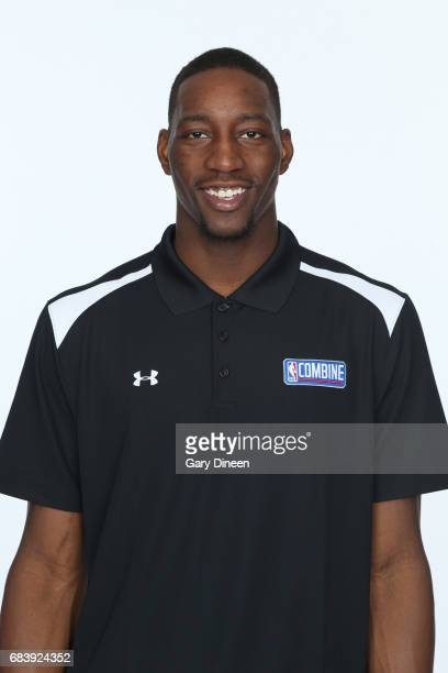 Draft Prospect Edrice Adebayo poses for a head shot during the NBA Draft Combine Medical Testing on May 13 2017 at Northwestern Memorial Hospital in...