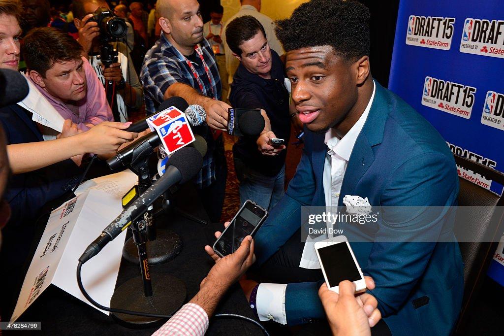 2015 NBA Draft - Media Availability and Portraits