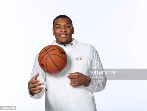 Draft Prospect George King poses for a portrait during the 2018 NBA Combine circuit on May 15 2018 at the Intercontinental Hotel Magnificent Mile in...