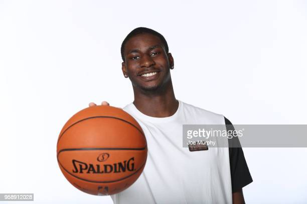 Draft Prospect Jaren Jackson Jr poses for a portrait during the 2018 NBA Combine circuit on May 15 2018 at the Intercontinental Hotel Magnificent...