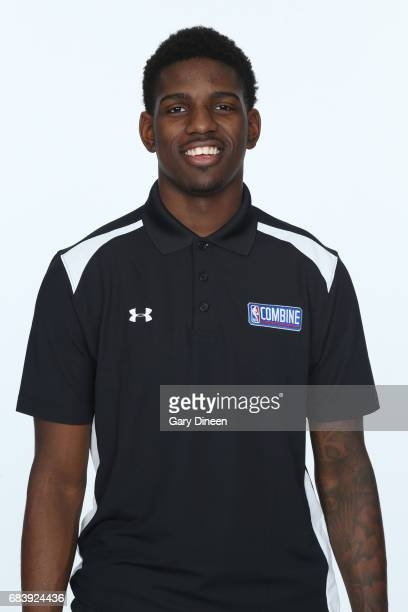 Draft Prospect Jawun Evans poses for a head shot during the NBA Draft Combine Medical Testing on May 13 2017 at Northwestern Memorial Hospital in...