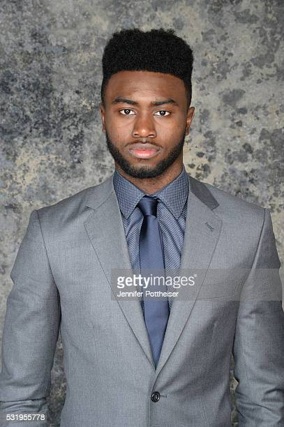 Draft Prospect Jaylen Brown poses for some portraits prior to the 2016 NBA Draft Lottery on May 17 2016 at the NBA Headquarters in New York City NOTE...