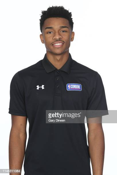 Draft Prospect Jaylen Hands poses for a head shot at the Body Image station for the Medical Evaluation portion of the 2019 NBA Combine powered by...