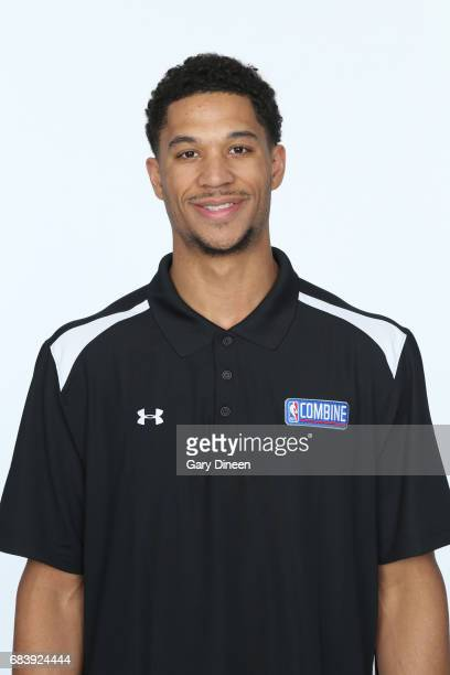 Draft Prospect Josh Hart poses for a head shot during the NBA Draft Combine Medical Testing on May 13 2017 at Northwestern Memorial Hospital in...