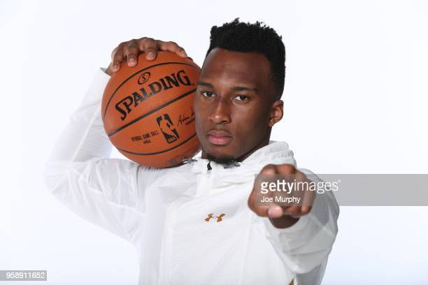 Draft Prospect Josh Okogie poses for a portrait during the 2018 NBA Combine circuit on May 15 2018 at the Intercontinental Hotel Magnificent Mile in...