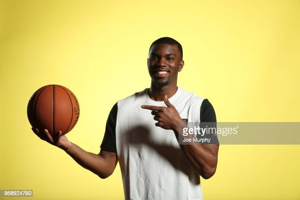 Draft Prospect Keenan Evans poses for a portrait during the 2018 NBA Combine circuit on May 15 2018 at the Intercontinental Hotel Magnificent Mile in...
