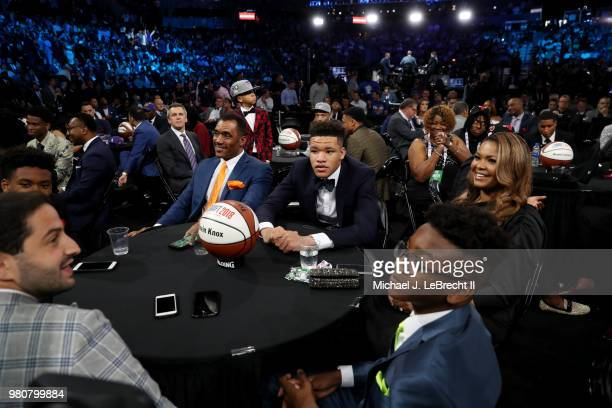 Draft Prospect Kevin Knox is seen on June 21 2018 at Barclays Center during the 2018 NBA Draft in Brooklyn New York NOTE TO USER User expressly...