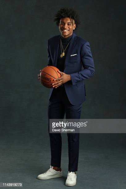 Draft Prospect Kevin Porter Jr poses for a portrait at the 2019 NBA Draft Lottery on May 14 2019 at the Chicago Hilton in Chicago Illinois NOTE TO...