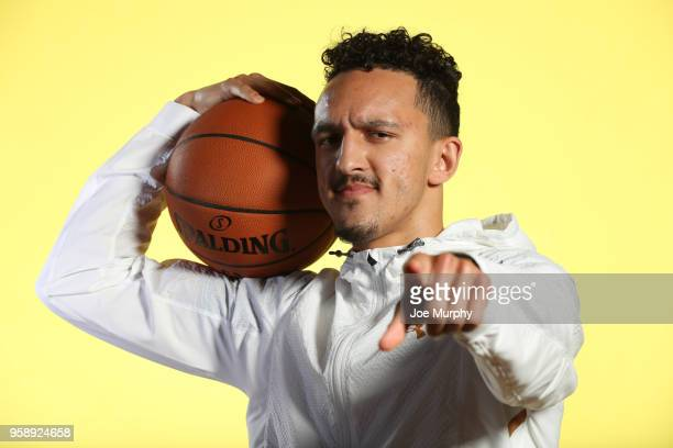 Draft Prospect Landry Shamet poses for a portrait during the 2018 NBA Combine circuit on May 15 2018 at the Intercontinental Hotel Magnificent Mile...