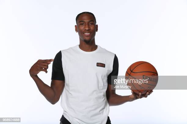 Draft Prospect Melvin Frazier Jr poses for a portrait during the 2018 NBA Combine circuit on May 15 2018 at the Intercontinental Hotel Magnificent...