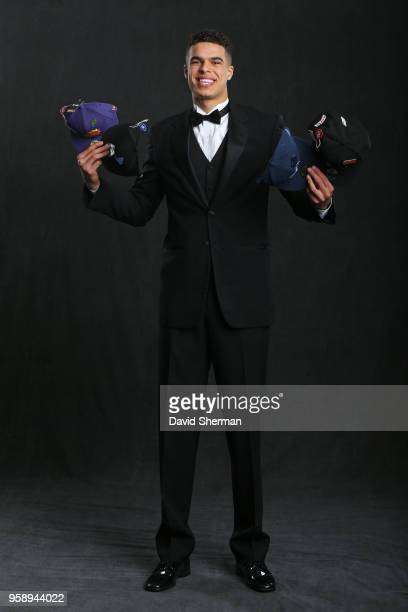 Draft Prospect Michael Porter Jr poses for a portrait before the NBA Draft Lottery on May 15 2018 at The Palmer House Hilton in Chicago Illinois NOTE...