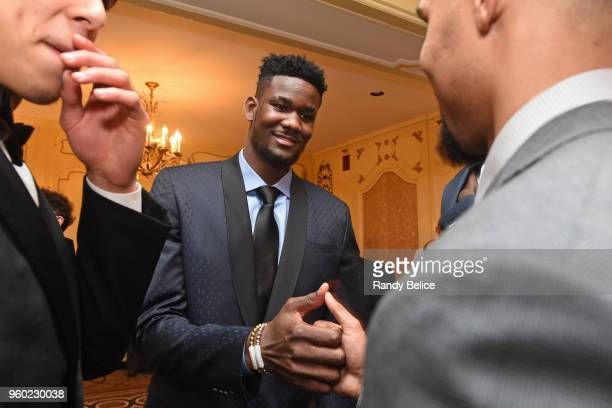 Draft Prospect Mohamed Bamba is photographed during the 2018 NBA Draft Lottery at the Palmer House Hotel on May 15 2018 in Chicago Illinois NOTE TO...