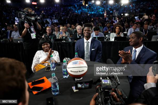 Draft Prospect Mohamed Bamba is seen on June 21 2018 at Barclays Center during the 2018 NBA Draft in Brooklyn New York NOTE TO USER User expressly...