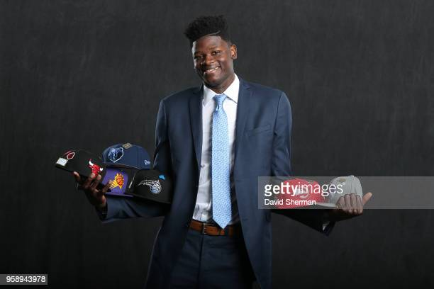 Draft Prospect Mohamed Bamba poses for a portrait before the NBA Draft Lottery on May 15 2018 at The Palmer House Hilton in Chicago Illinois NOTE TO...