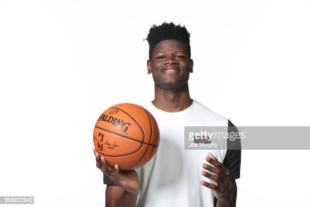 Draft Prospect Mohamed Bamba poses for a portrait during the 2018 NBA Combine circuit on May 15 2018 at the Intercontinental Hotel Magnificent Mile...