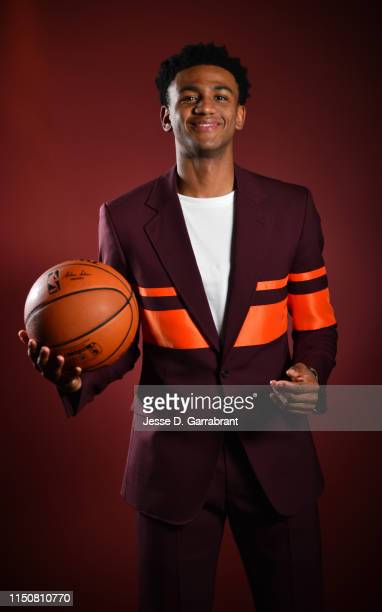 Draft Prospect Nickeil AlexanderWalker poses for portraits during media availability and circuit as part of the 2019 NBA Draft on June 19 2019 at the...