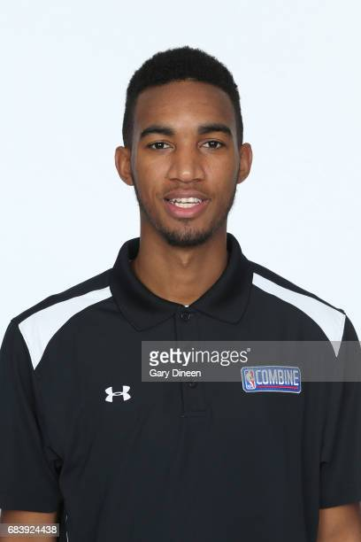 Draft Prospect Terrance Ferguson poses for a head shot during the NBA Draft Combine Medical Testing on May 13 2017 at Northwestern Memorial Hospital...