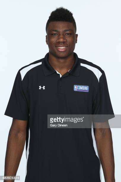 Draft Prospect Thomas Bryant poses for a head shot during the NBA Draft Combine Medical Testing on May 13 2017 at Northwestern Memorial Hospital in...