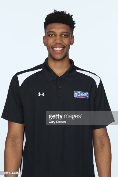 Draft Prospect Tony Bradley poses for a head shot during the NBA Draft Combine Medical Testing on May 13 2017 at Northwestern Memorial Hospital in...