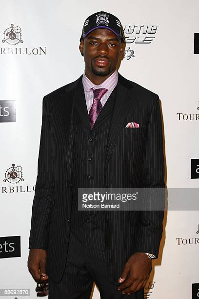 Draft prospect Tyreke Jamir Evans attends the 2009 NBA Draft party at the 40 / 40 Club on June 25 2009 in New York City