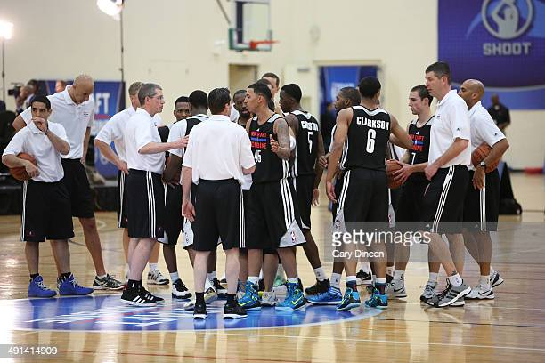NBA draft prospects participate in drills during the 2014 Draft Combine on May 15 2014 at Quest Multisport in Chicago Illinois NOTE TO USER User...