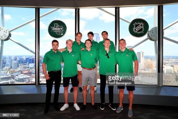 2018 NHL Draft top prospects Evan Bouchard of Canada Rasmus Dahlin of Sweden Adam Boqvist of Sweden Noah Dobson of Canada Quintin Hughes Filip Zadina...