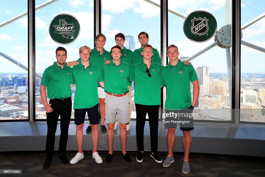 2018 NHL Draft - Top Prospects Media Availability : News Photo