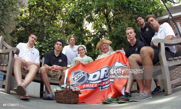 Draft Top Prospects Leon Draisaitl Michael Dal Colle Sam Reinhart along with a lookalike Betsy Ross and Ben Franklin Samuel Bennett Anthony DeAngelo...