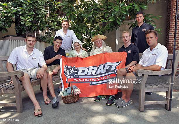 Draft Top Prospects Leon Draisaitl Michael Dal Colle Sam Reinhart along with lookalikes Betsy Ross and Ben Franklin Samuel Bennett Anthony DeAngelo...