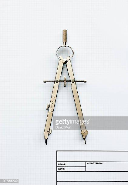 drafting compass - drawing compass stock pictures, royalty-free photos & images