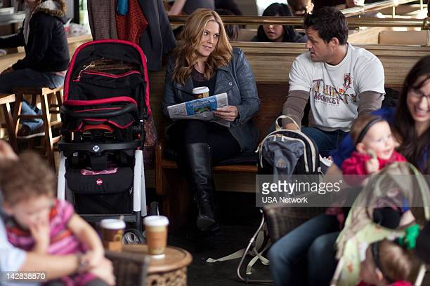 SIGHT 'Drag Me to Hell' Episode 505 Pictured Mary McCormack as Mary Shannon Josh Hopkins as Kenny