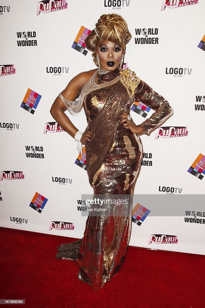 Drag performer BeBe Zahara Benet attends 'RuPaul's Drag Race' Season 5 Finale, Reunion & Coronation Taping on May 1, 2013 in North Hollywood, California.