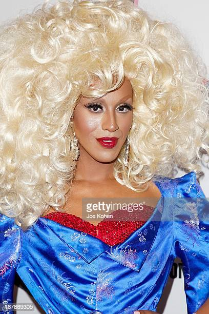 Drag performer Honey Mahogany attends 'RuPaul's Drag Race' Season 5 Finale Reunion Coronation Taping on May 1 2013 in North Hollywood California