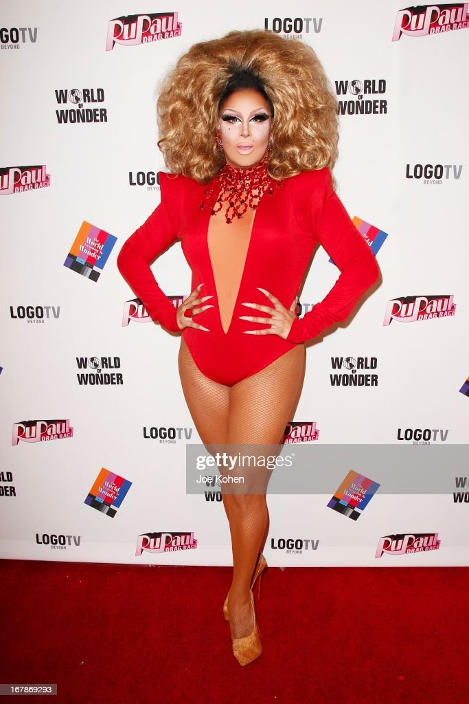 Drag performer Roxxxy Andrews attends 'RuPaul's Drag Race' Season 5 Finale, Reunion & Coronation Taping on May 1, 2013 in North Hollywood, California.