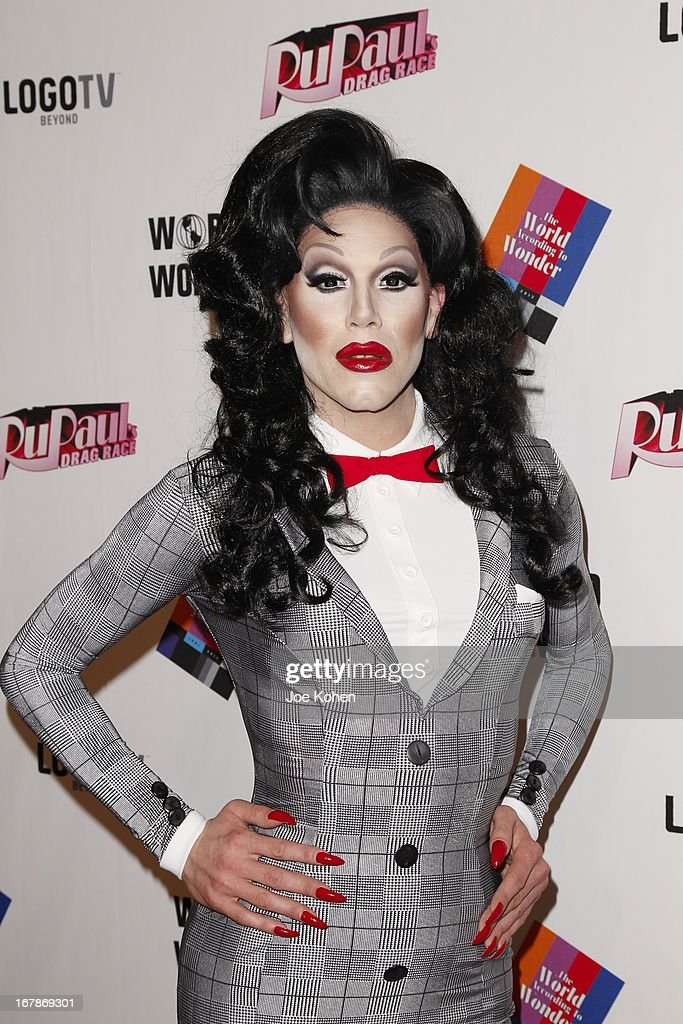 Drag performer Sharon Needles attends 'RuPaul's Drag Race' Season 5 Finale, Reunion & Coronation Taping on May 1, 2013 in North Hollywood, California.