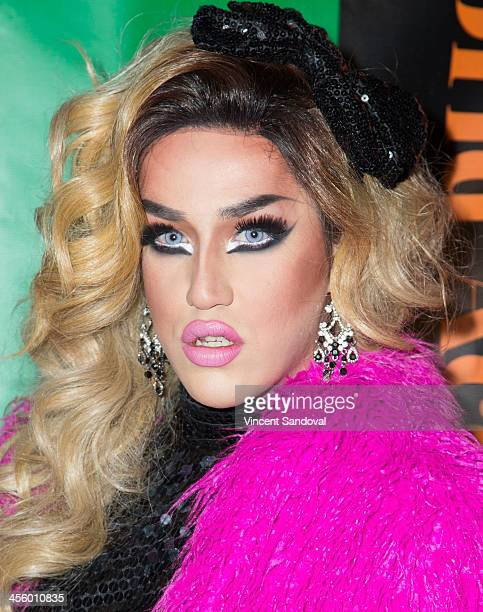 Drag queen Adore Delano attends the World of Wonder's 1st Annual WOWie Awards at The Globe Theatre on December 12 2013 in Universal City California