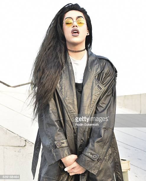 Drag queen Adore Delano poses for portrait during the opening of PEG The Store PEG Records Artist Showcase at Arts District Coop on June 9 2016 in...