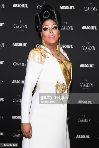 Drag queen and television personality Alexis Mateo attends a celebration honoring Miss Nevada USA 2021 Kataluna Enriquez, Miss USA's first...