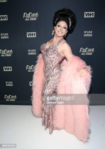 Drag queen BenDeLaCreme attends RuPaul's Drag Race All Stars Meet The Queens on January 17 2018 in New York City