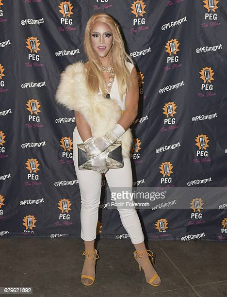 Drag queen Dani T attends 'A Royal Holiday' at PEG The Store on December 13 2016 in Los Angeles California