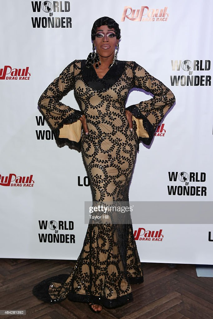 Drag queen Jasmine Masters attends the 'RuPaul's Drag Race' Season 7 New York Premiere at Diamond Horseshoe at the Paramount Hotel on February 23, 2015 in New York City.