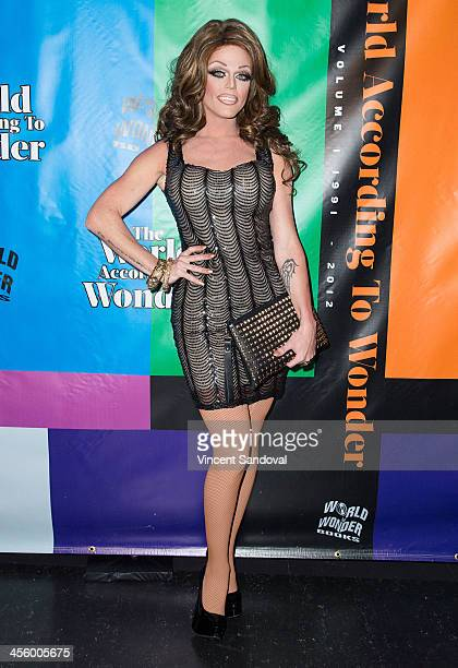 Drag queen Morgan McMichaels attends the World of Wonder's 1st Annual WOWie Awards at The Globe Theatre on December 12 2013 in Universal City...