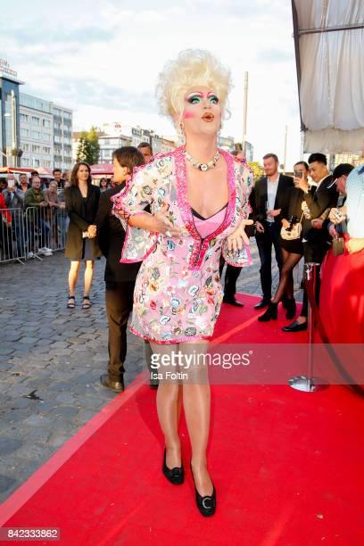 Drag Queen Olivia Jones attends the 'Nacht der Legenden' at Schmidts Tivoli on September 3 2017 in Hamburg Germany