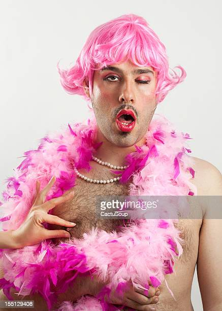 drag queen - transvestite stock photos and pictures