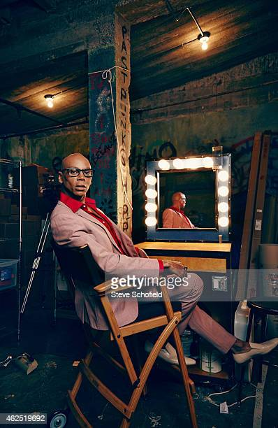 Drag queen RuPaul is photographed for ES magazine on July 1 2014 in Los Angeles California
