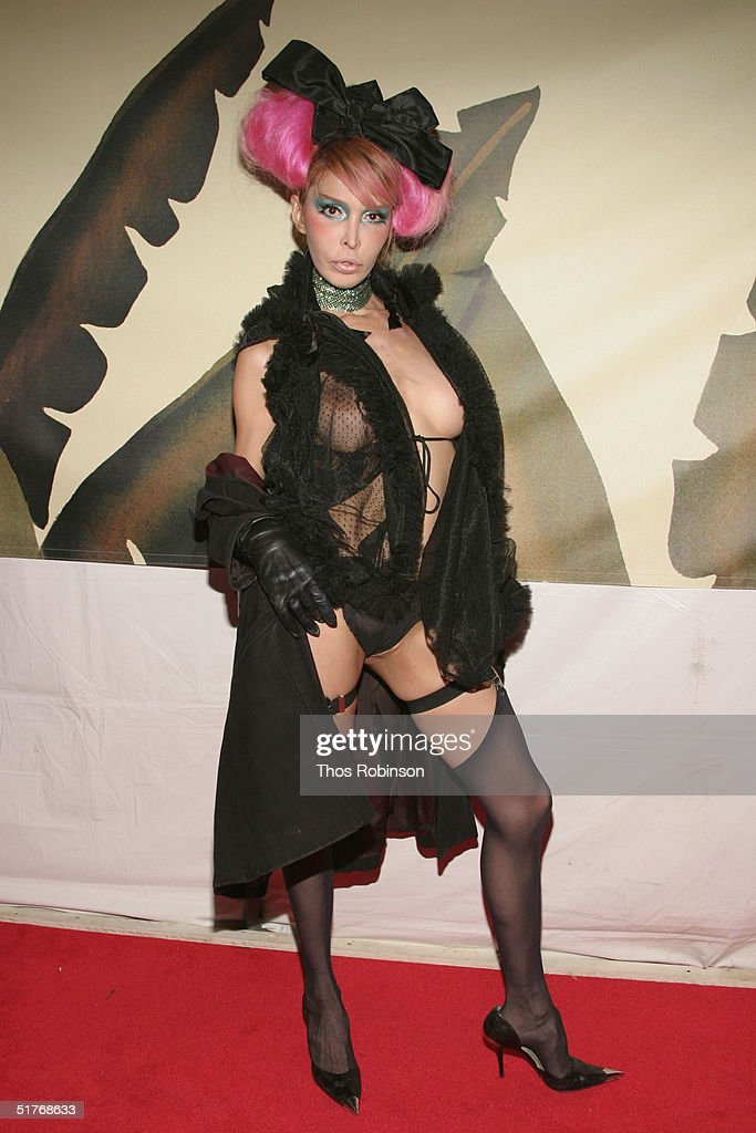 Drag Queen Sophia Lamar attends the 20th Anniversary of Indochine at Indochine Restaurant on November 19, 2004 in New York City.
