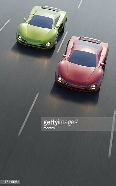 drag race - car racing stock pictures, royalty-free photos & images
