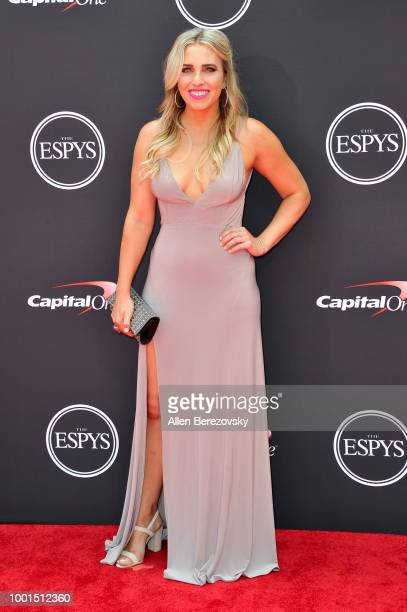 NHRA drag racer Brittany Force attends The 2018 ESPYS at Microsoft Theater on July 18 2018 in Los Angeles California