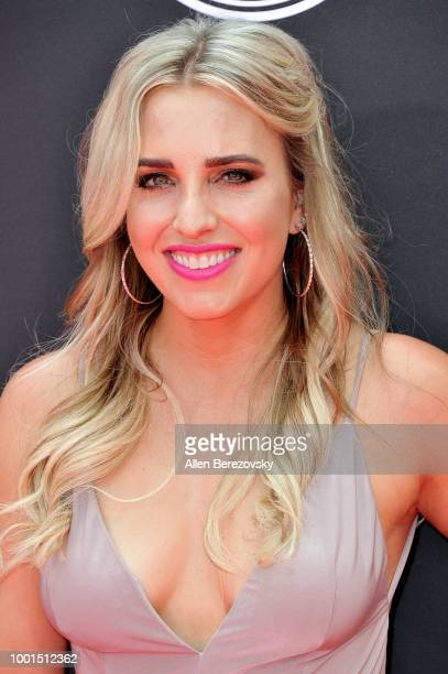 Drag racer Brittany Force attends The 2018 ESPYS at Microsoft Theater on July 18, 2018 in Los Angeles, California.