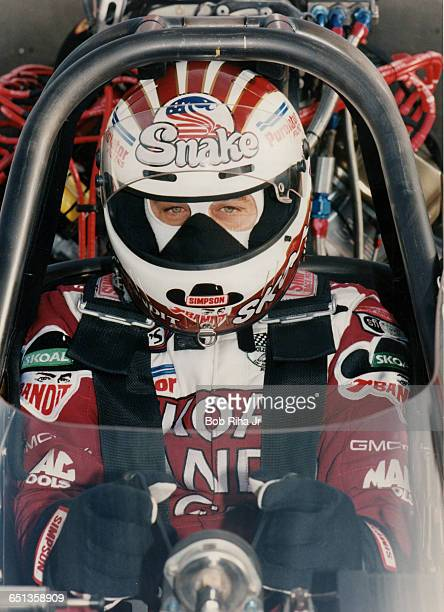 Drag racer Don Prudhomme at Pomona Raceway on January 31 1994 in Pomona CA